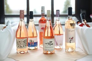 A selection of California rosés.