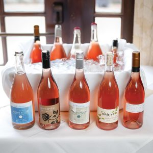 Rosés from Oregon: Patton Valley, Portlandia, Winderlea and Anne Amie Vineyards.