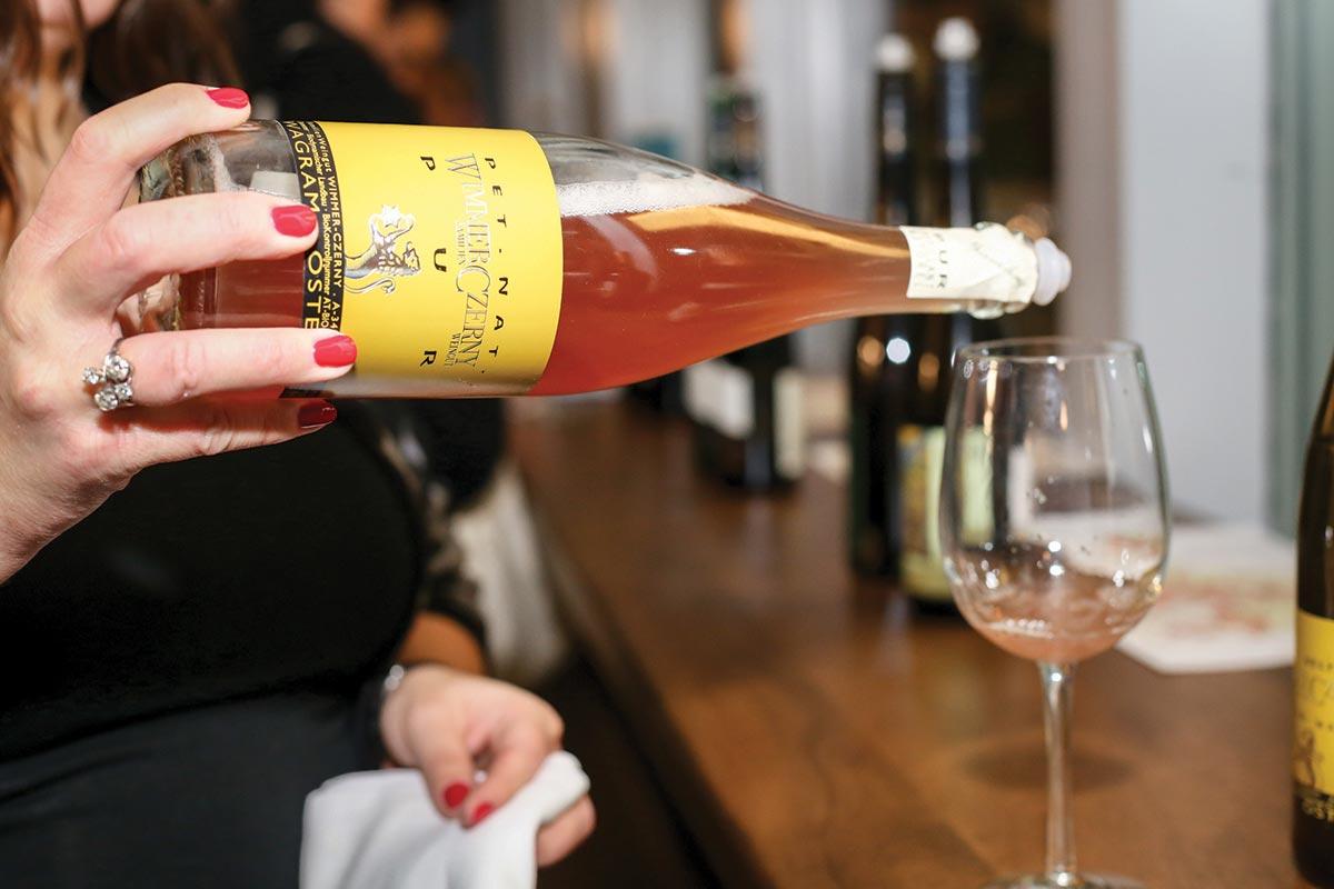 MS Walker Hosts Late-Night Industry Wine Tasting