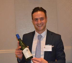 Marthinus van der Vyver, NA Manager, Ken Forrester Wines.