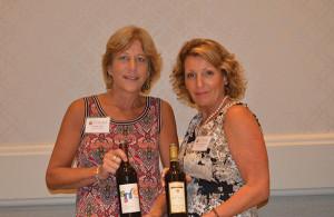 Deborah Clark and Patricia Allen, Brand Ambassador, Merriam Vineyards.