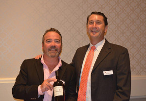 Thomas Lezynski, Regional Manager, Matchbook Wine Company; Nate Saywell, Fine Wine Sales Manager, MS Walker.