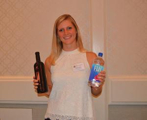 Emma Bzdafka, Sales Manager, Justin & Landmark Vineyards.