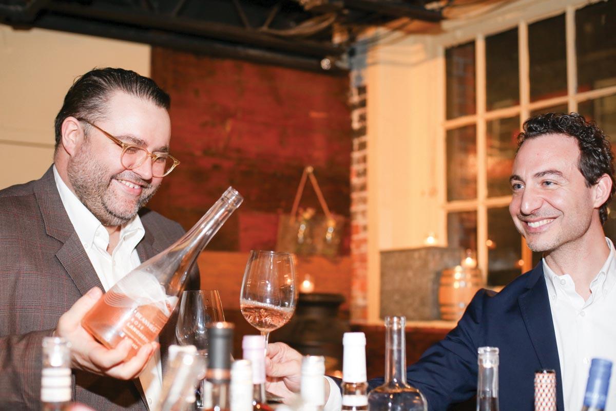 MS Walker Hosts Annual Vintage Rosé Tasting