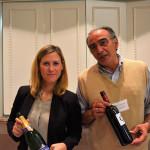 Aurelie Vix, Regional Sales Manager, Vranken Pommery America and Gian Luigi Maravalle, Owner, Tenuta Vitalonga.