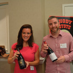 Nicole Primeau, East Coast Sales Manager, Summerland Winery and Matthew Perry, East Coast Sales Manager, Diamond Importers, Inc.