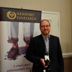 Craig Corsetti, Tasting Room Manager, Newport Vineyards.