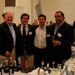 Julio Bastos, Wine Producer, Donna Maria; Rui Madeira, Wine Maker, Rui Madeira Douro Valley; David Rego, Export Manager, Parras Wine Group; and Jack Cuto, Multicultural Brand Manager, M.S. Walker Portugal.