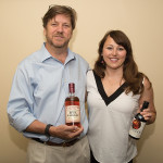 Brett Little, Co-Founder and Chief Distiller, Mad River Distillers and Mimi Buttenheim, President, Mad River Distillers of Warren, Vermont.