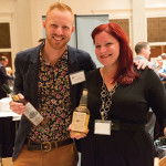 Corey Bunnewith, Co-founder, Boston Harbor Distillers and Jennifer Sutherland, NE Sales Representative, Berkshire Mountain Distillers.