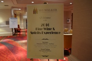 2016 MS Walker Fine Wine and Spirit Experience