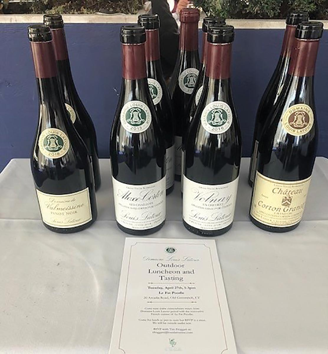 Monsieur Touton Hosts Latour Wine Luncheon