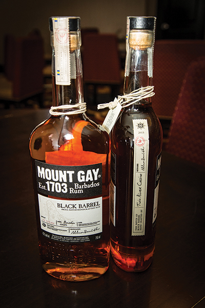 USBG RI Hosts Mount Gay Rum Brand Ambassador