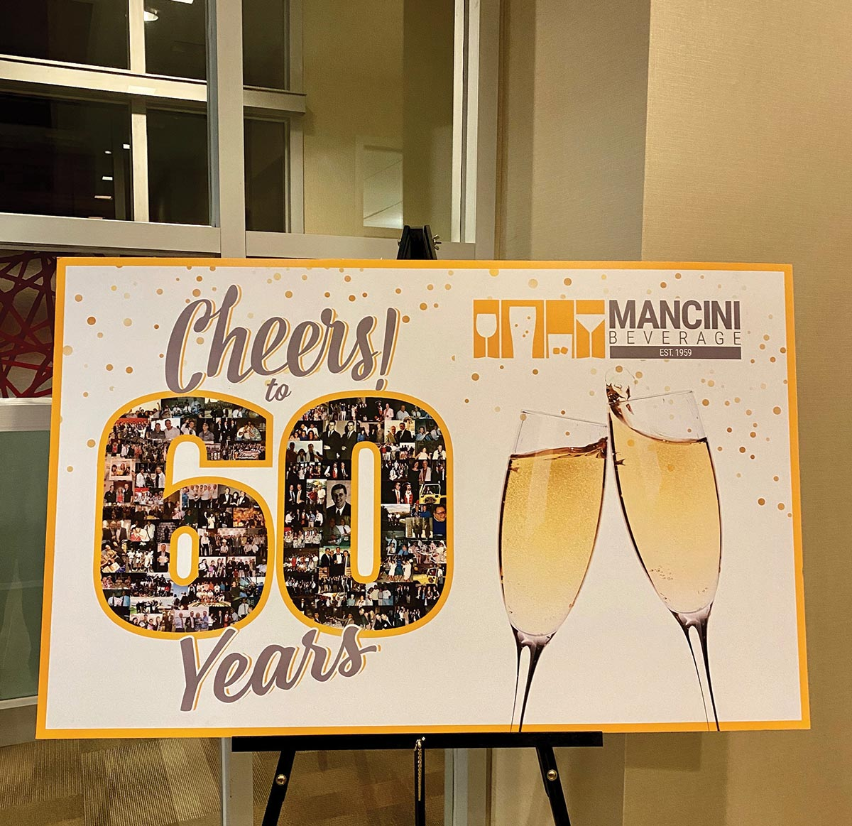 Mancini Beverage Celebrates 60 Years of Service