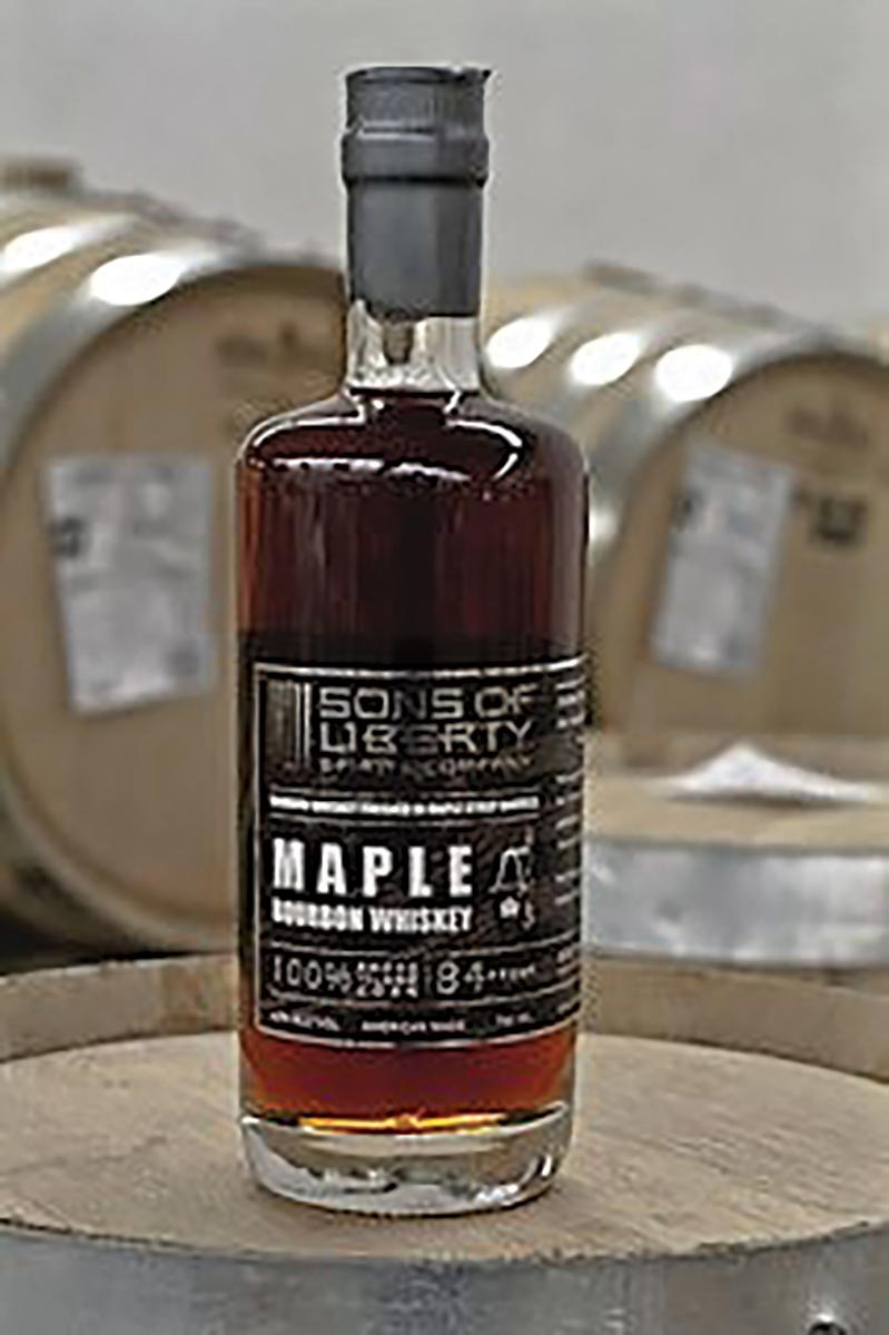 Sons of Liberty Spirits Co. Releases New Maple Bourbon Whiskey