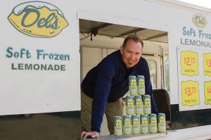 Mark Hellendrung, president of Narragansett Beer and Del's Shandy.
