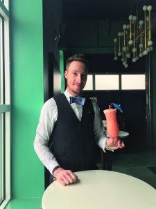 Bartender Matt Simmons