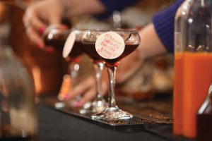 Mercado's winning Manhattan cocktail, Morning Manhattan.