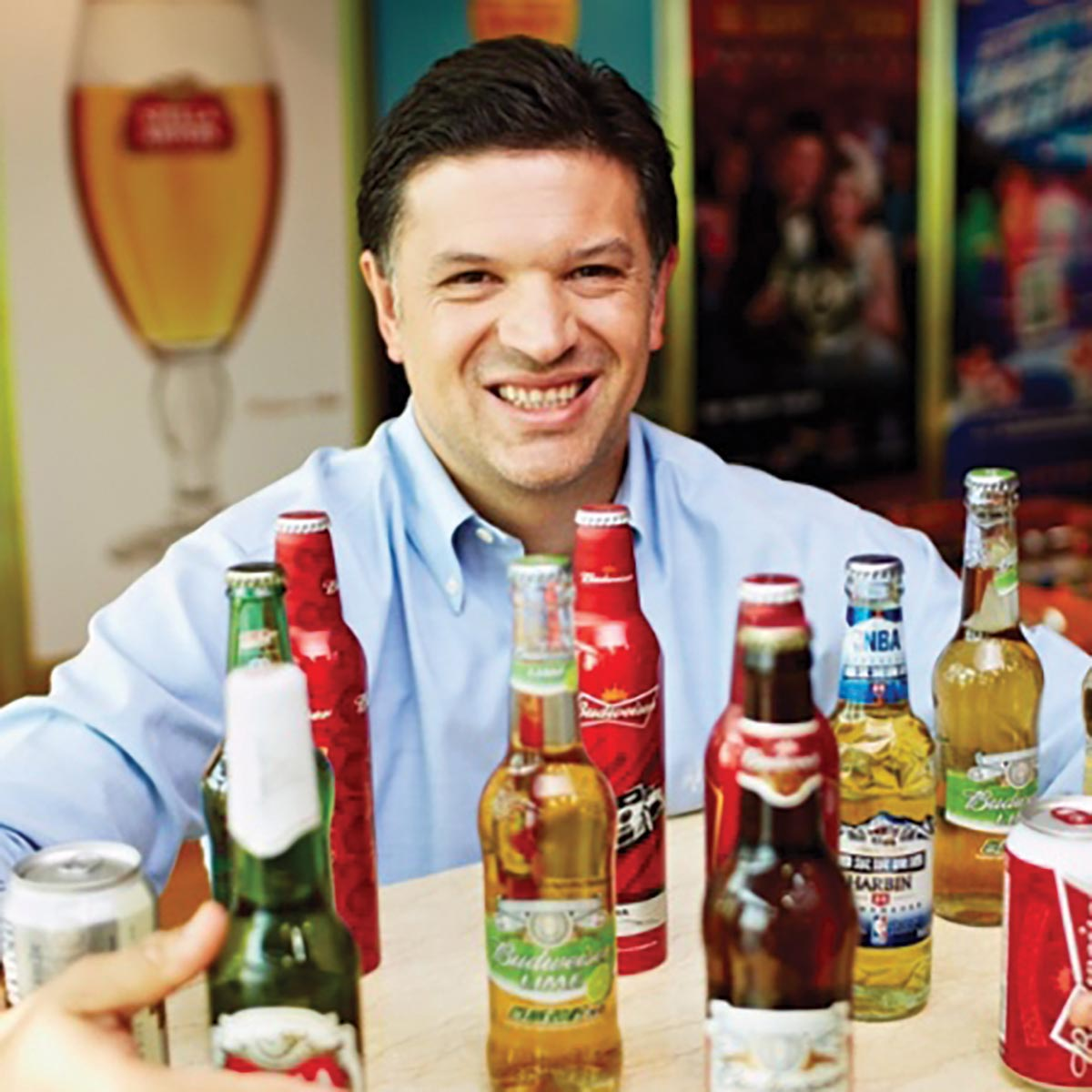 AB InBev's Doukeris Named Zone President and CEO for North America
