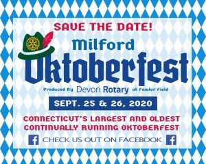 Milford Oktoberfest 2020 @ Fowler Field Rotary Pavilion | Milford | Connecticut | United States