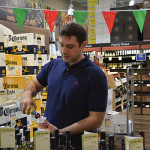 George Mitas pouring a taste of Muses Estate.