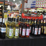 Mina Wines at Total Wines featured Kokarella, Muses Estate and Assyritko 300 wines.