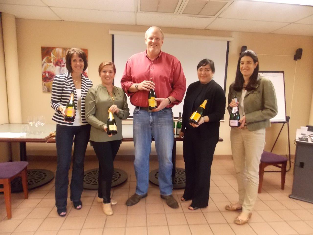 Slocum & Sons Participates in Champagne Education