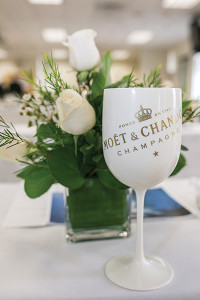 """Moët Ice Impérial is true to the Moët & Chandon style yet distinguished by """"its bright fruitiness, its seductive palate and its elegant maturity."""" Sales team members were presented with a guided tasting during the brand education session."""