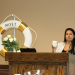 Naira Robles, Brand Development Manager, Moët Hennessy USA.