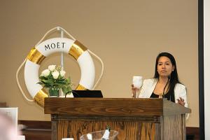 Naira Robles, Brand Development Manager, Moët Hennessy USA.
