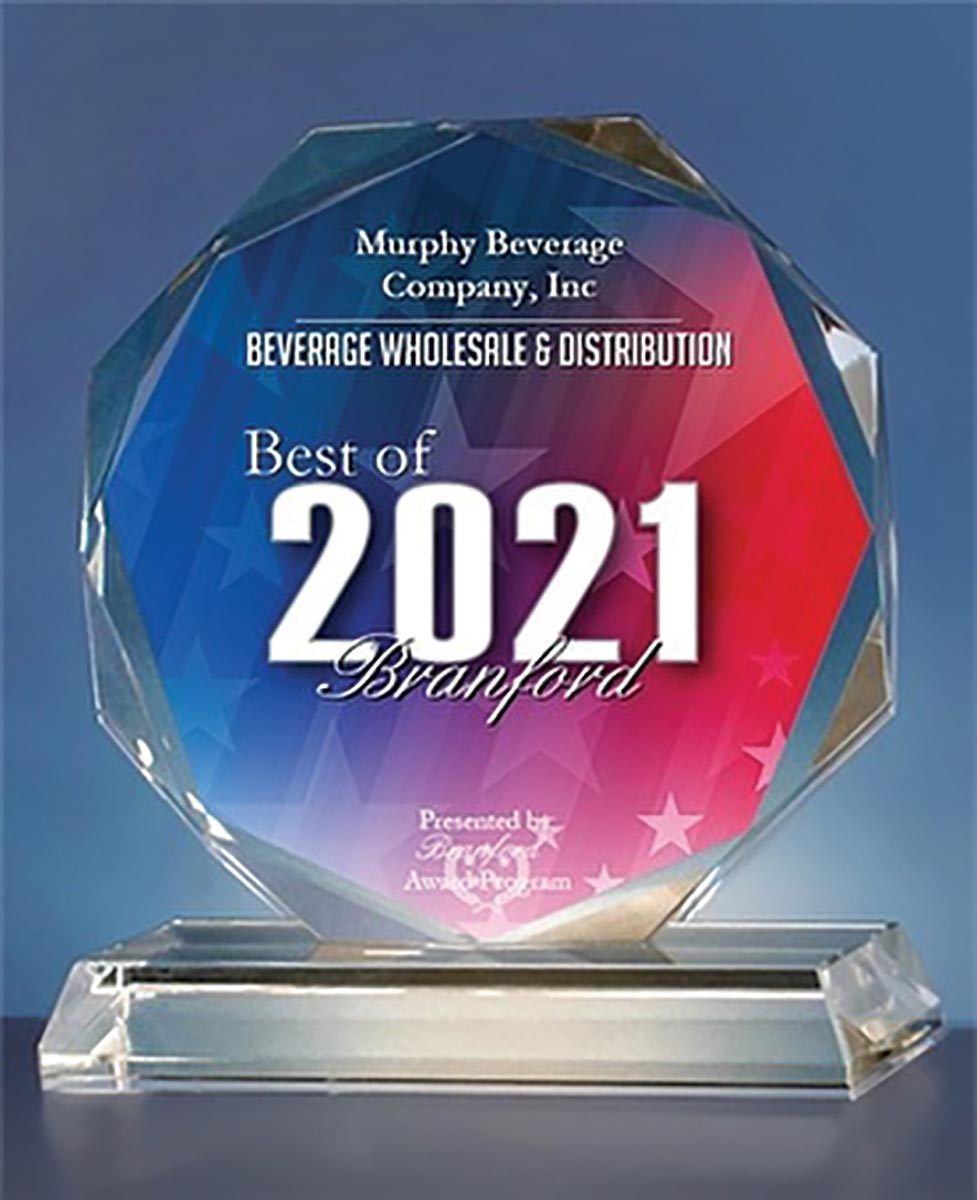 Murphy Distributors Receives Best of Branford Award
