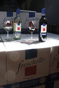 Freschello Wines, from vineyards located in Veneto, Italy, launched at a May event at Murphy Distributors in Branford.
