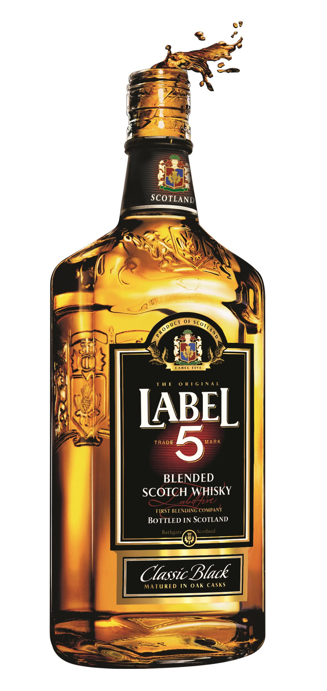 New Look for Label 5 Classic Black Scotch Whisky