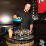 Anthony Guaetta, Bartender, Twin River Casino at the opening night dinner.