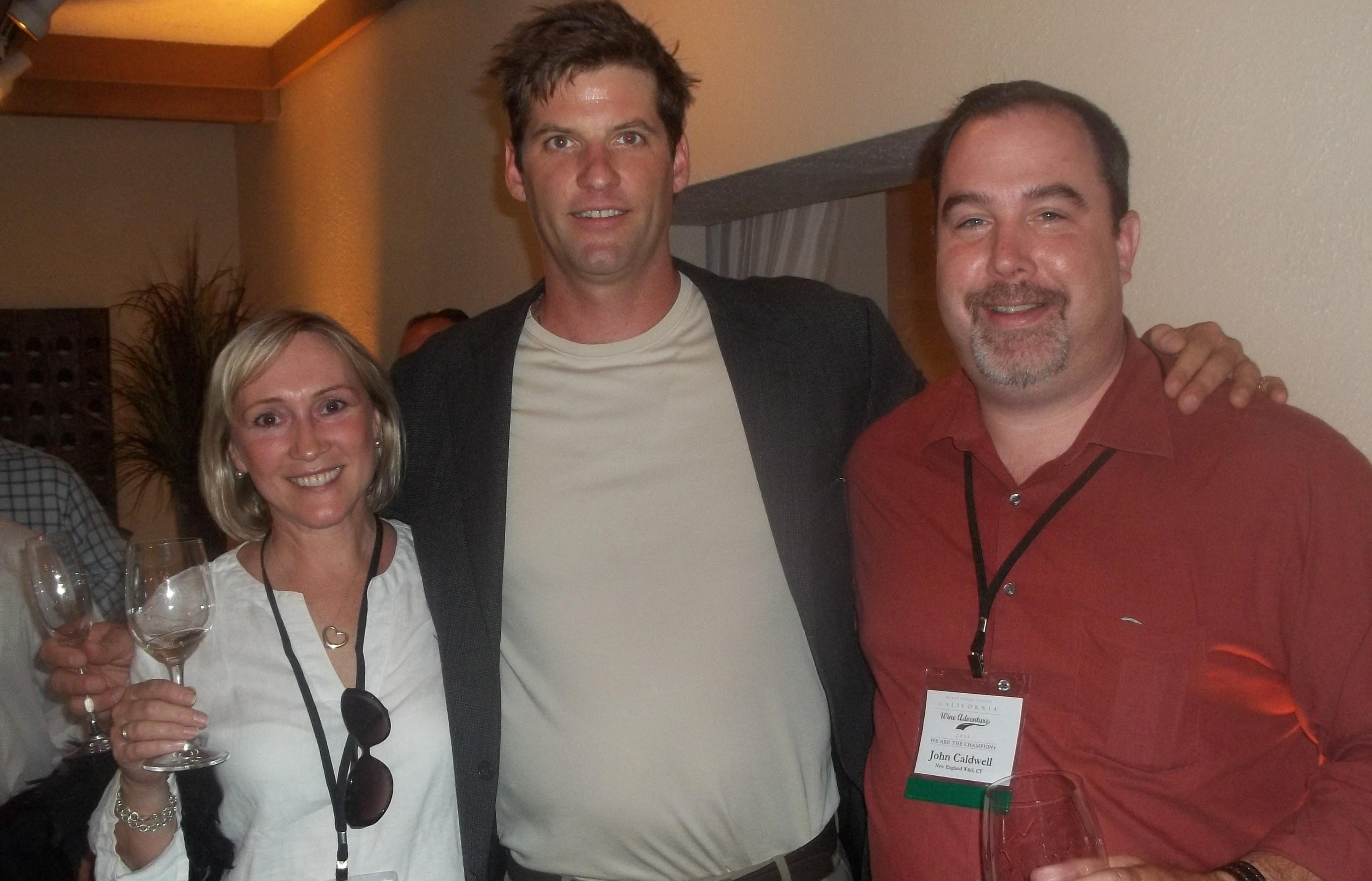 "AROUND TOWN: NEWS Sales Winners Attend ""California Wine Adventure"""