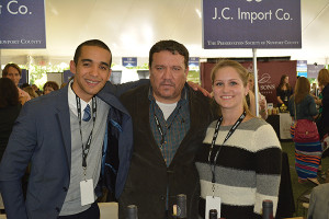 Ali Quero, Regional Account Manager; Carlos Figueroa, President; and Jamie Martin, Sales. All from JC Import Co.