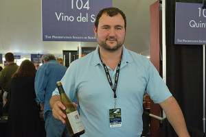 Vino del Sol's Mark Goldberger, New England Regional Sales Manager.