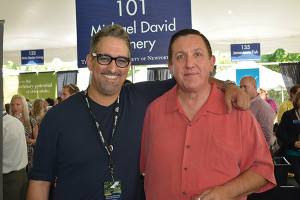 Michael David Winery's Steve Cuoco, New England District Sales Manager and Mike O'Neil, Rhode Island Distributing
