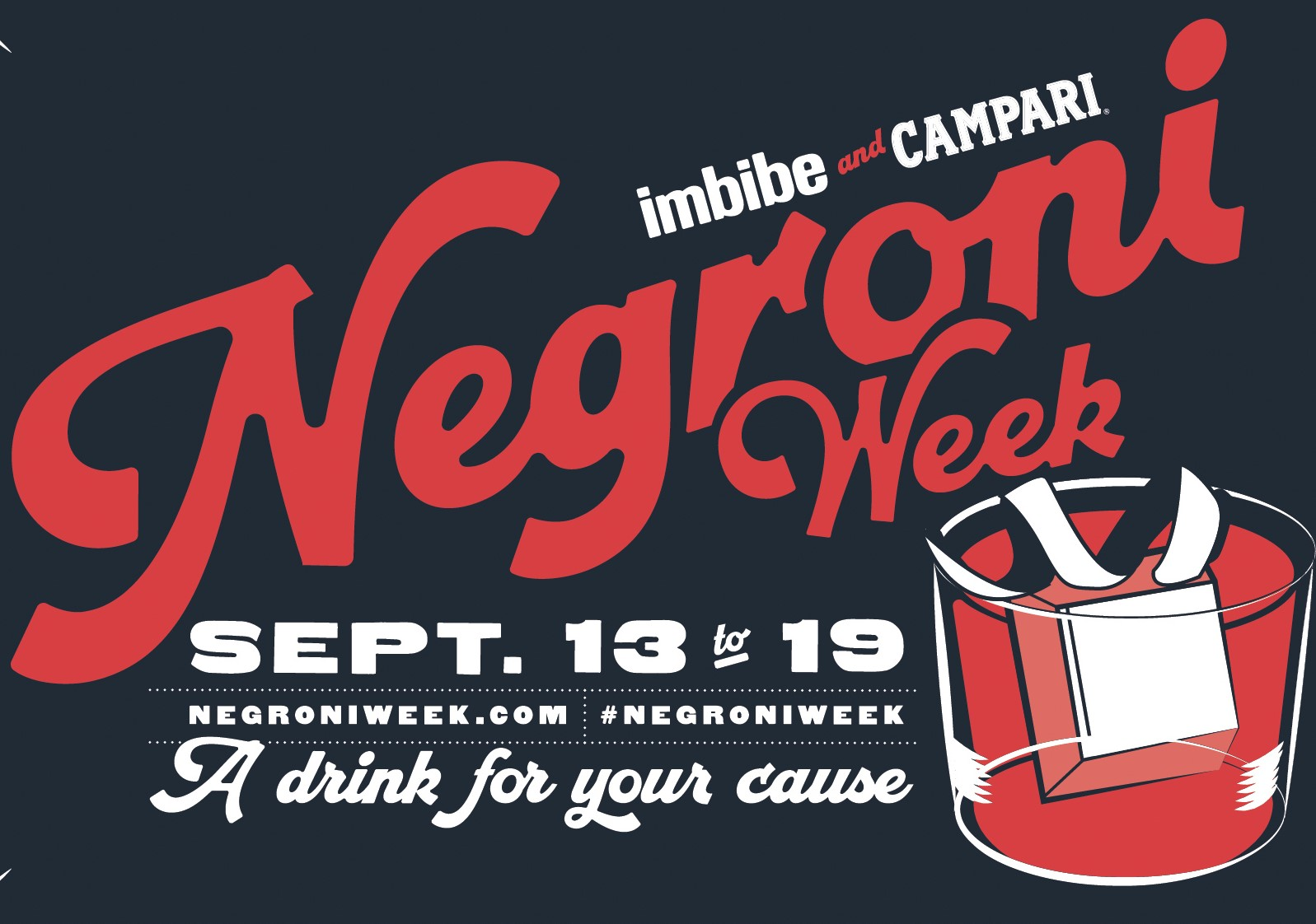 Negroni Week September 2021 Dates Announced