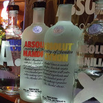 Absolut products went through a bottle redesign with slight changes to the neck of the bottle and is produced using less glass for a more eco-friendly bottle.