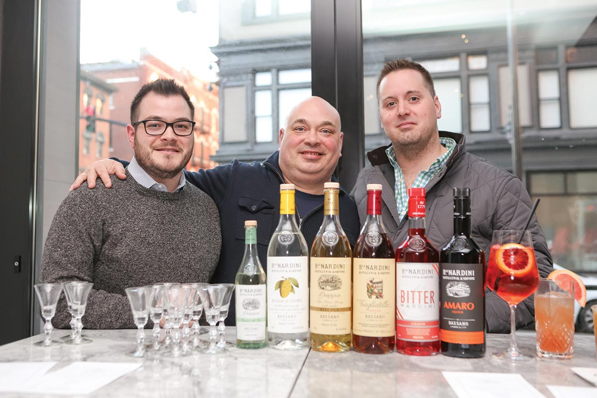 Nardini Spirits Tasting Takeover Hosted at Sarto