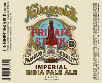 NARRAGANSETT BEER CELEBRATES 122nd ANNIVERSARY WITH LIMITED-EDITION IPA