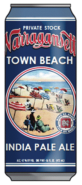 Narragansett Beer Reintroduces Town Beach IPA