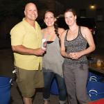 Narragansett Beer's John Richard, Ann Boschini and Jen Riley.