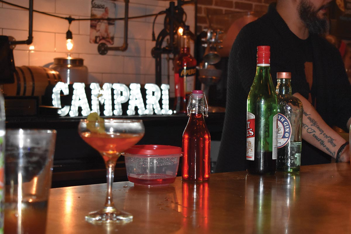 Cocktail Competition Kicks Off Annual Campari Negroni Week