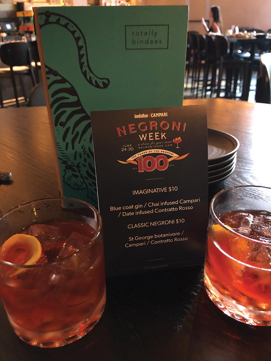 Connecticut's Negroni Week Celebrates a Classic