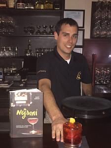 PJ Ferreira, Bar Manager of Christian's in Bristol.