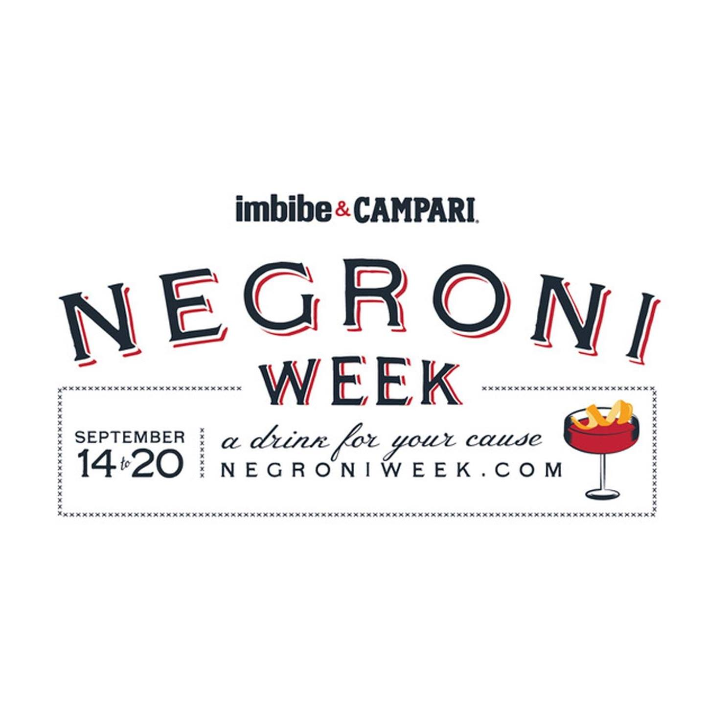 Negroni Cocktail Week 2020 Goes Virtual