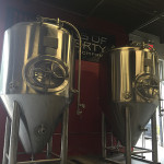 Part of its expansion includes adding new fermenter tanks to help with production.