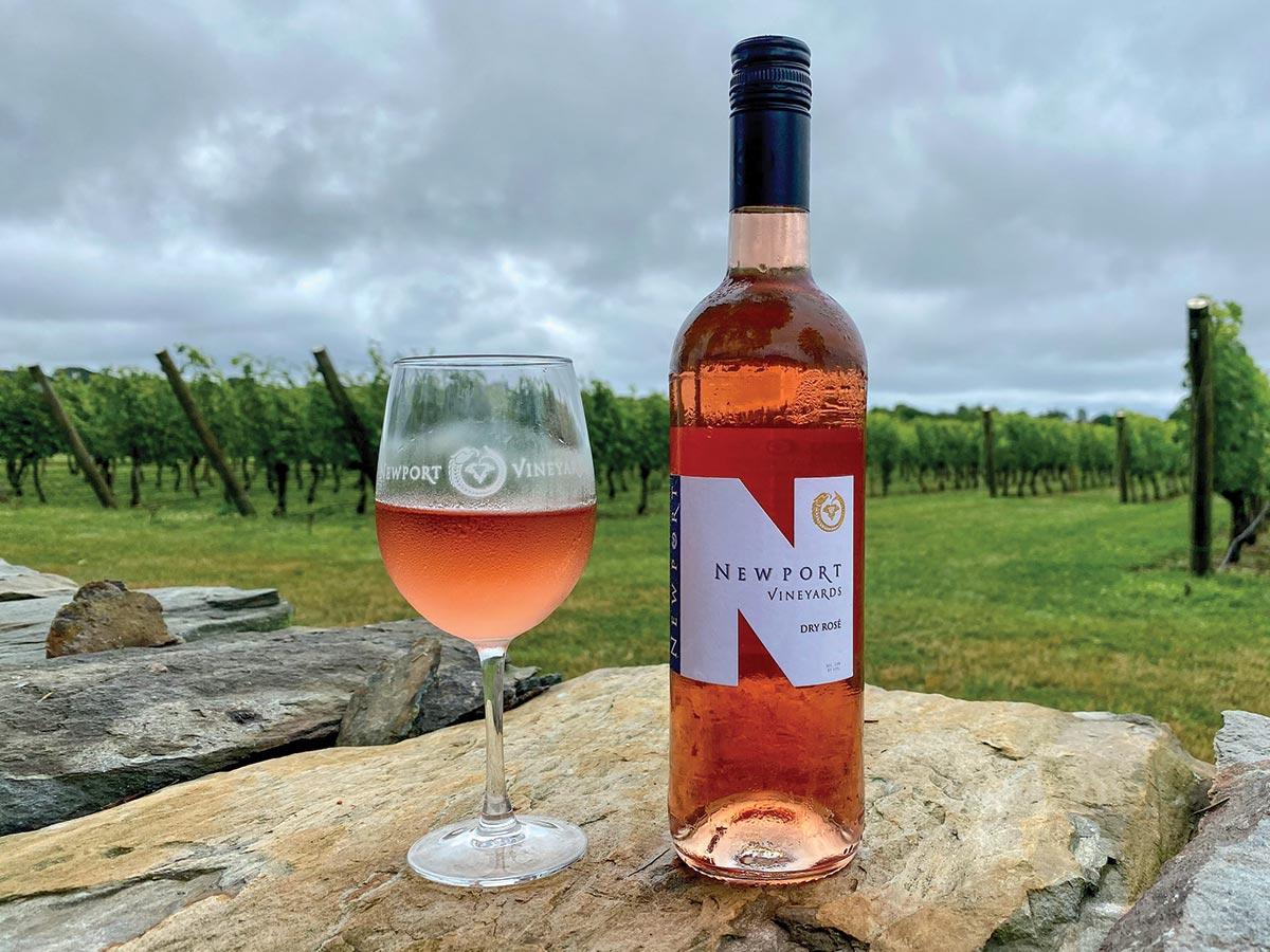 Newport Vineyards Wins 2021 AFWC Rosé Competition